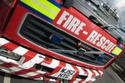 Car fire on M5 closes two lanes