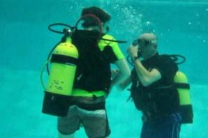 Bromsgrove Scouts get a lesson in scuba diving